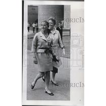 1968 Press Photo Mrs. Otis Chandler, wife of Los Angeles Times publisher
