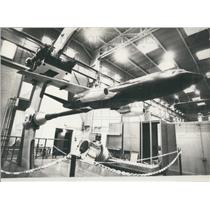 "1977 Press Photo World's Largest Wind Tunnel ""F-1"" Near Toulouse"