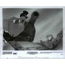 1987 Press Photo FIevel and Henri in An American Tail