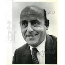 1984 Press Photo Fashion Designer Luciano Franzoni judges pres'l candidates