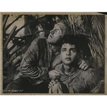 Undated Press Photo James Whitmore and Sal Mineo in The Young Don't Cry