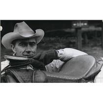 1968 Press Photo Jack Clubb Pendleton auto dealer who serves as volunteer