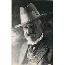 1925 Press Photo Capt JH King of 500 Ninth St Ponca City, Oklahoma