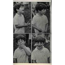 1966 Press Photo Young John Kennedy Jr. left on his own - ora46885