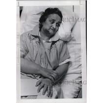 1968 Press Photo Mrs. Arden L. Helvey attacked & shot by intruder at Bess Kaiser