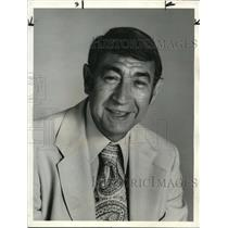 1976 Press Photo Howard Cosell praised his favorite fighters - ora12173