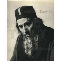 Press Photo Actor George Arliss as Shylock in The Merchant of Venice New York