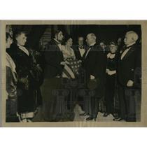 1921 Press Photo American Univ Union members Wm Rea, R Skinner & Consul General