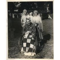 1924 Press Photo Society Woman Help at White House