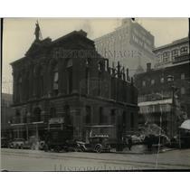1931 Press Photo Old County Jail at Frankfurt St