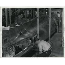1940 Press Photo This process is known as Skinning