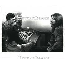 1985 Press Photo Cleveland Go Club Haold Lloyd, Joy Joulker, Dan Sobotka