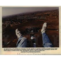 1991 Press Photo Paraplane