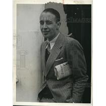 1932 Press Photo of Pierre Vanlaer