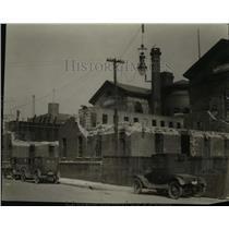 1926 Press Photo Old City Jail Cells