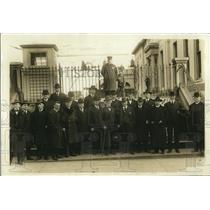 1919 Press Photo American citizens of Irish descent at White House President