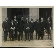 1926 Press Photo Red Cross in DC W Fortune, A Belmont, JD Ryan,J Freeman