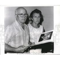 1966 Press Photo of Mr. John Savko and Mrs. Savko parents of two men who were