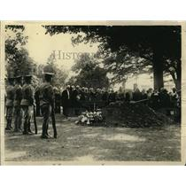 1922 Press Photo Henry Chaplain funeral at Arlington Cemetery