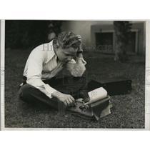 1932 Press Photo Actor Norman Phillips Jr.