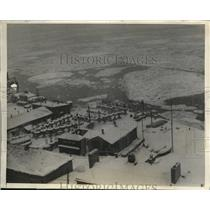 1925 Press Photo General view of Quebec city, the mecca of Winter sports