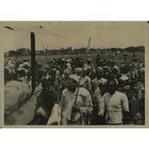 1922 Press Photo Major Blake's attempt on the world flight, Delhi