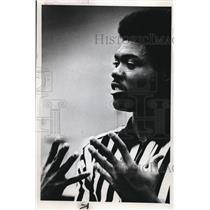 1974 Press Photo Eldridge Broussard, Student of Pacific University - ora00172