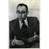 1974 Press Photo Jesse Fasold State Superintendent Of Public Instruction