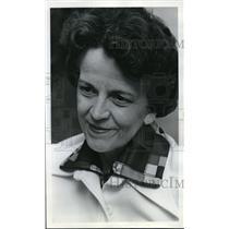 1974 Press Photo Dorothea Hughes chairman task force status of women in Church