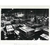 1986 Press Photo Manchester Steel Corp