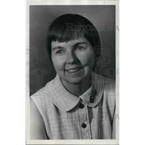 1974 Press Photo Ardis Hitchcock chairperson Governor's Committee Status/Women