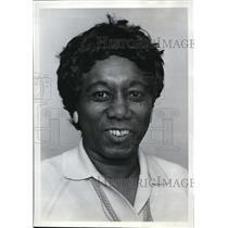 1974 Press Photo Jefferson High School Principal Eileen Law demoted by School Bd