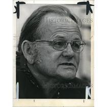 1974 Press Photo Garrett Hardin Professor At University Of California - ora35661