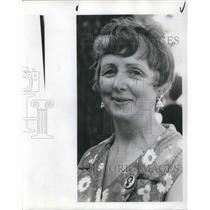 1974 Press Photo Eleanor Davis Founder of Oregon Council for Women Equality.