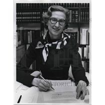 1972 Press Photo Attorney Louise Jayne Running For Judge - ora43147