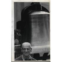 1973 Press Photo Herman Horack, Former Fireman - ora37786
