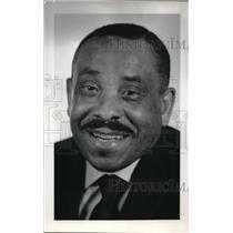 1969 Press Photo Rev John Jackson, pastor of Mount Olivet Baptist Church