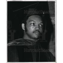 1969 Press Photo Rev. Jesse Louis Jackson, youthful head of civil groups