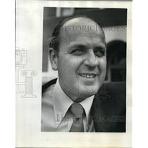 1974 Press Photo Eugene Douthit Jefferson High Principal - ora20613