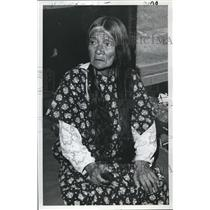 1971 Press Photo Mrs. Tommy (Flora)Thompson - ora21494