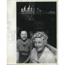 1972 Press Photo Mrs. Myron L Dean Portland Federation of Women's Organization