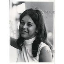 1970 Press Photo Mary Anne Frank, young indian hopes to get higher education