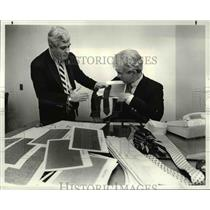 1983 Press Photo Richard Bennett and Mike Rukule
