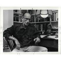 1986 Press Photo Bill McKee, former Nazi prisoner