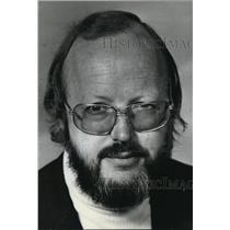 1974 Press Photo Frederick G. Humphrey University of Connecticut, Storrs