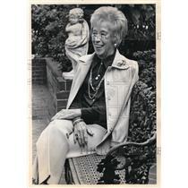 1976 Press Photo Margo Hunt, longtime advocate of performing arts - ora41700