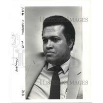 1986 Press Photo Francisco Campbell, Nicaraguan Embassy minister-counselor