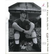 1992 Press Photo Finley, Kenneth - ora24266