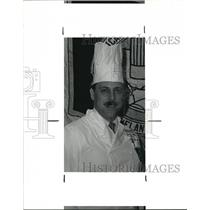 1990 Press Photo Jim Miller, American Culinary Federation president