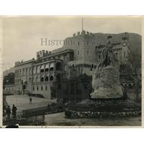 1926 Press Photo The Princess Palace from Serrace Monaco